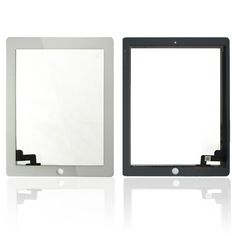 Replacement Mobile Phone Touch Panel White Black Touch Screen Glass Digitizer For iPad 2 T0.41