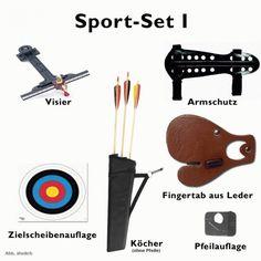 SportSet I für Lang- oder Recurvebögen