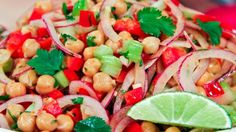 Chickpea Detox Salad | Steven and Chris | One of Joy McCarthy's favourite crunchy salads. Perfect to practice proper food combining!