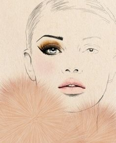 Fashion Illustration - Sandra Suy www.jackiejacobson.com