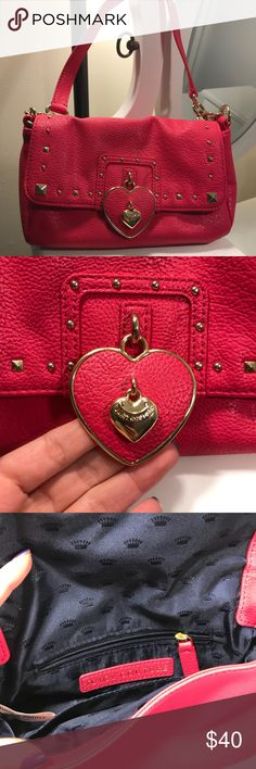 Juicy couture clutch Fun, cute, mini Never used Authentic Juicy Couture Bags Mini Bags