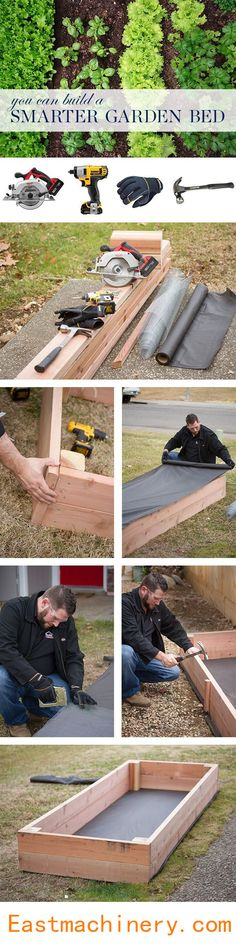 Do you want a garden bed, Let us do it!