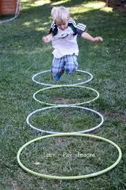 Hula Hoop Activity for Outdoor play