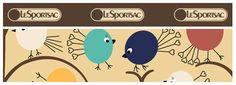 LeSportsac Print Archive 2007 | lesportsac.com Birdie print