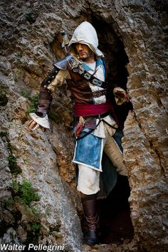 Edward Kenway #cosplay (Assassin's Creed) by Leon Chiro