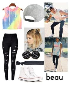 """""""Beau brooks(janoskians)"""" by asthmatic-princess ❤ liked on Polyvore featuring Converse, RVCA and Accessorize"""