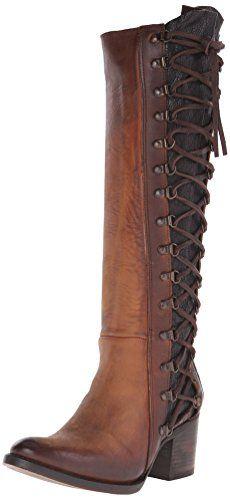 Buy Freebird Women's Wyatt Harness Boot, Cognac, 7 M US Freebird by Steven http://www.amazon.com/gp/product/B00UUFN17Y?tag=canreb0c-20