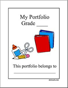 teaching portfolio template free - 1000 images about student portfolios on pinterest
