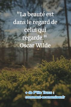 citation d'oscar wilde sur la beauté