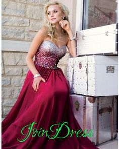 186 usd.Sweetheart Prom Dress,A-Line Prom Dress,Chiffon Prom Dress,Noble Beading Prom Dress