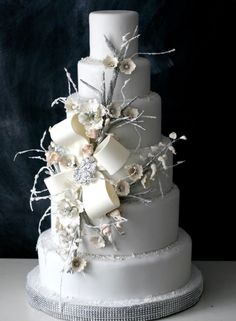 Artistic Wedding Cakes From The Caketress.......