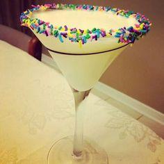 Cake Batter Martini 1 12oz Cake Vodka 1 12oz White Creme de Cacao
