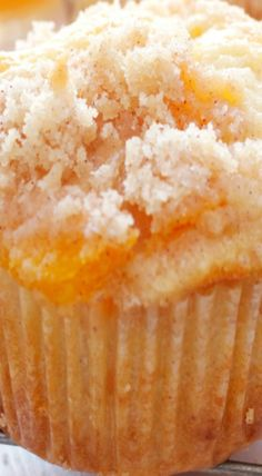 Peach Cobbler Cupcakes, Peach Muffins, Quick Peach Cobbler, Homemade Peach Cobbler, Cake Mix Recipes, Cupcake Recipes, Dessert Recipes, Cake Mix Muffins, Baking Muffins