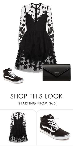 """""""Untitled #1782"""" by lover99 ❤ liked on Polyvore featuring Elie Saab, Vans and Balenciaga"""