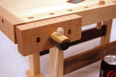 Lake Erie Toolworks, Wooden Vise, Scandinavian Workbench, Face Vise, Tail Vise