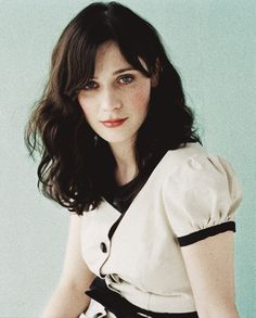 Zooey Deschanel friggen stop will you