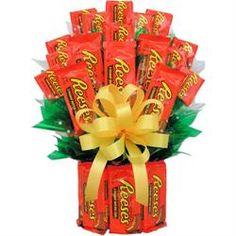 Reeses Candy Bouquet - A Unique Candy Gift