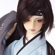178.00$  Watch now - http://ali2oq.worldwells.pw/go.php?t=32328429832 - 1/3 scale 60cm BJD nude doll DIY Make up,Dress up SD doll. Japanese boy.not included Apparel and wig