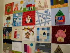 Ada's country life: house quilt