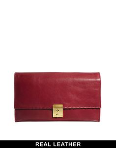 ASOS Leather Purse Travel Wallet