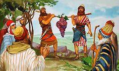 Sombra do Onipotente: OS DOZE ESPIAS DE ISRAEL