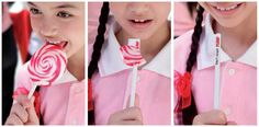 Colgate: Don't forget, LollipopColgate: Colgate normally gives out small product samples at annual events...
