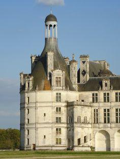 Castillo. Valle del Loira. Francia