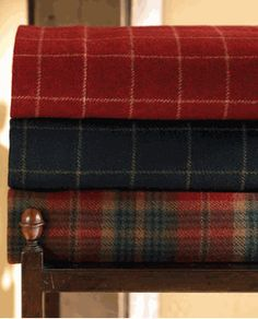 Store: Cobble Court, North Wool Tartan Custom Bedding