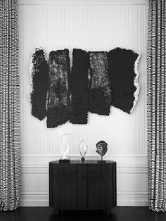 Contemporary Living Room in New York City, NY by Juan Montoya Design