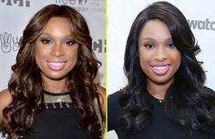 Black vs Brown Hair for dark skin