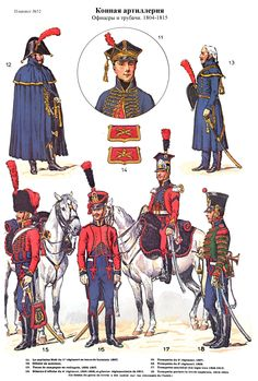 Artillerie a cheval 1804-1815 (pl 52)2