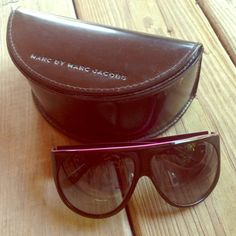 7d53b105558 Marc Jacobs aviators Worn once and always kept in case - no flaws ..trade