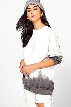 Bethany Dipped Hem Sweatshirt