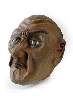 Emotional Mask--Ceramics I