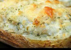 Crab Stuffed Potatoes Recipe -  Very Tasty Food. Let's make it!