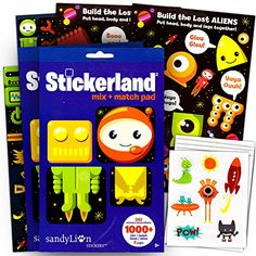 Robots and Space Stickers Party Supplies Set -- Over 300 ... https://www.amazon.com/dp/B01C4OTAXC/ref=cm_sw_r_pi_dp_x_VYP2zbQXAR2DM