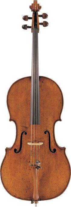 1690c Girolamo II Amati Cello from The Four Centuries Gallery