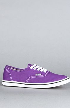 Vans Footwear The Authentic Lo Pro Sneaker in Purple : Karmaloop.com - Global Concrete Culture