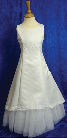 Bespoke Made To Measure First Communion Dress - Isabelle