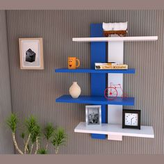 estante flotante decoracion modulo moderno repisa infantil