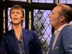 We like to bring this chestnut back from time to time. Watch it, and you'll know why.  In 1977, just a short month before Bing Crosby died of a heart attack, the 40s crooner hosted David Bowie, the glam rocker, on his Christmas show. The awkwardness of the meeting is palpable.