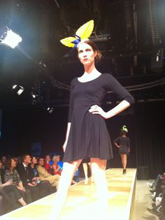 Betsy Hatter at the Designers Show at Norwich Fashion Week 2014