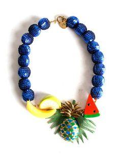 Collar Frutas Tropicales de BL
