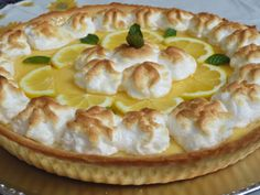 Lemond pie (Tarta de lemon curd) Ana Sevilla con Thermomix