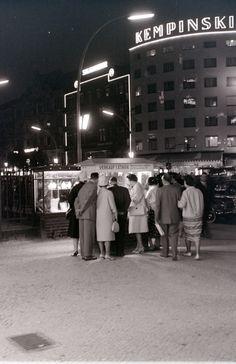 West Berlin. Kudamm