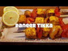 Paneer Tikka / Tofu Tikka - YouTube Seitan, Tempeh, Tofu, Paneer Tikka, Garlic, Breakfast, Youtube, Morning Coffee, Youtubers