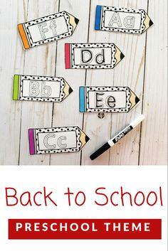 Back to School Letter Tracing Cards for Preschool Tracing Letters, Preschool Letters, Preschool Themes, Alphabet Activities, First Day Of School, Pre School, Back To School, School Stuff, Welcome To School