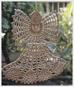 Sweet Nothings Crochet: CHRISTMAS ANGEL - 3