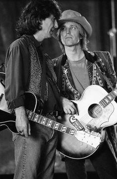 Tom Petty and George Harrison