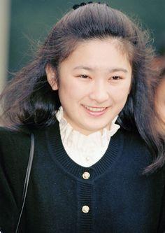 学生時代の秋篠宮文仁親王妃紀子(あきしののみやふみひとしんのうひきこ)殿下  princess kiko